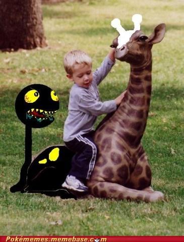 Girafarig IRL