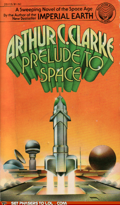 WTF Sci-Fi Book Covers: Prelude to Space