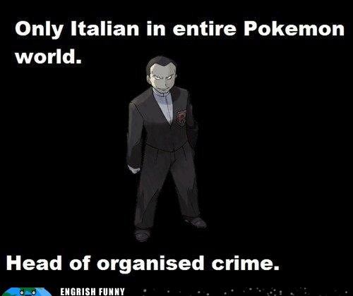 giovanni,italian,mafia,organized crime,Pokémon
