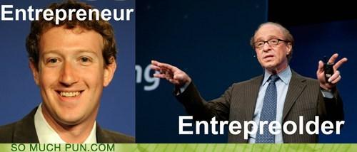 comparison,entrepreneur,newer,older,opposites,similar sounding,suffix