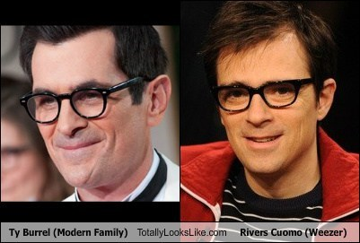 Ty Burrel (Modern Family) Totally Looks Like Rivers Cuomo (Weezer)