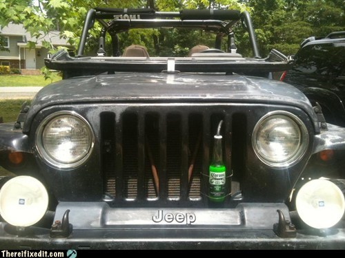beer,coolant,cooling,corona,engine,find your beach,jeep