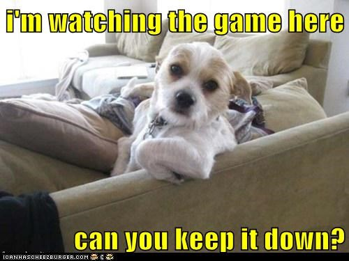 I'm Trying to Watch The Game!