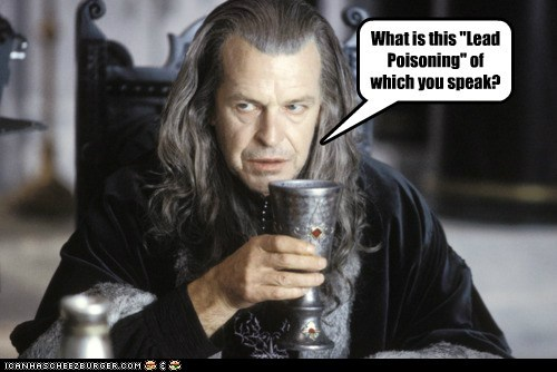 It Wasn't Sauron who Corrupted Denethor's Mind. It was the Chalice from the Palace.