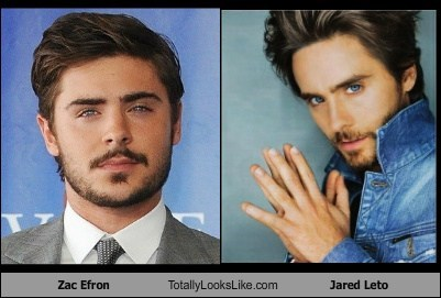 Totally Looks Like: Zac Efron Totally Looks Like Jared Leto