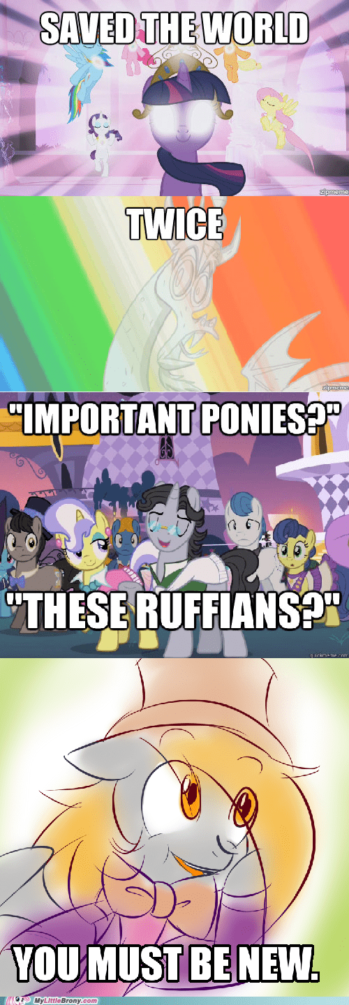 Some Canterlot ponies are just ignorant