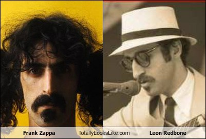 Frank Zappa Totally Looks Like Leon Redbone