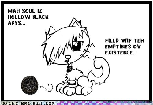 black,cat,cheezburger,emolulz,poetry