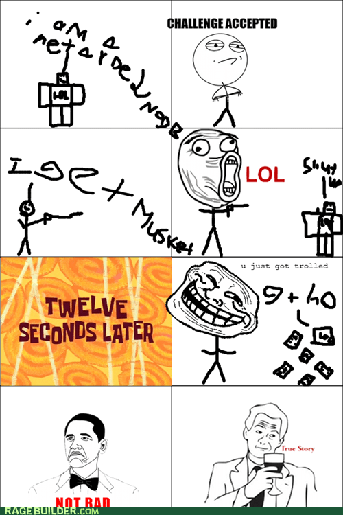 the story of teh noob dat got trolled