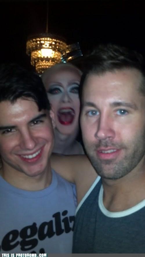 creepy,creepy sneakers,drag queen,scary