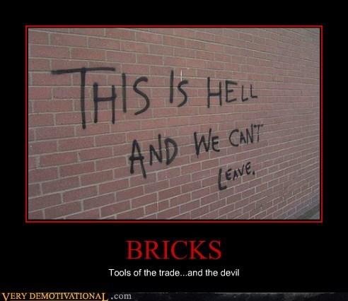 bricks,devil,hell,hilarious,school