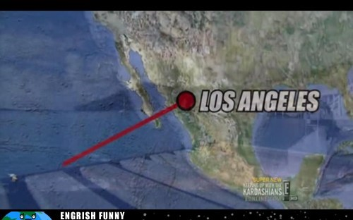 Geography, Courtesy of E!