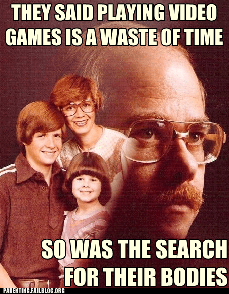 family photos,search for their bodies,video games