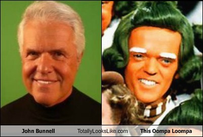 John Bunnell Totally Looks Like This Oompa Loompa