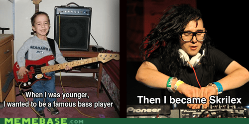Skrillex Was Once a Young Boy Too