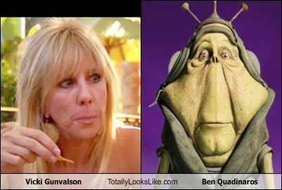 Vicki Gunvalson Totally Looks Like Ben Quadinaros