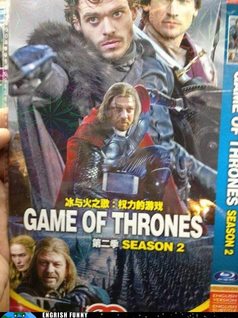 brace yourselves,Eddard Stark,engrish funny,g rated,Game of Thrones,imminent ned,Jon Snow,ned stark,sean bean,The Avengers,Thor