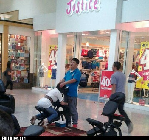 Mall Massage FAIL