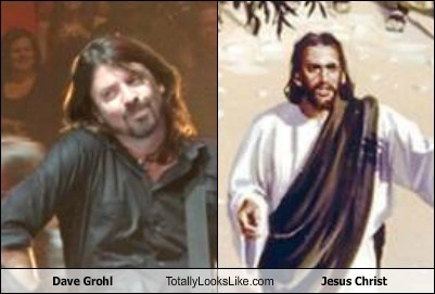 Dave Grohl Totally Looks Like Jesus Christ