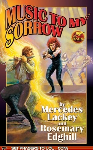 WTF Sci-Fi Book Covers: Music to my Sorrow