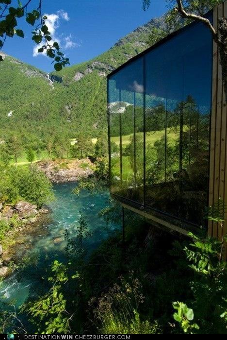 Juvet Landscape Hotel in Valldal, West Norway