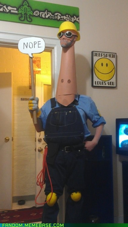 cosplay,Memes,nope.avi,Team Fortress 2,video games