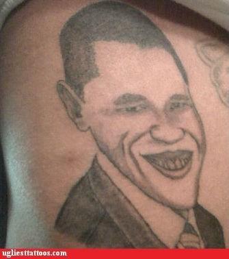 Ugliest Tattoos: President Joker