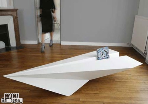 Paper Plane Table WIN