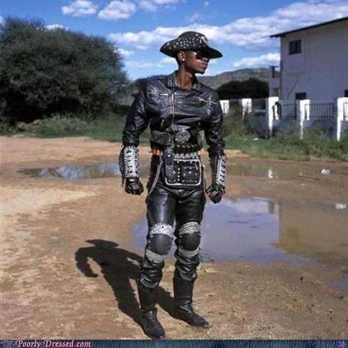 africa,BAMF,fashion,leather,metal