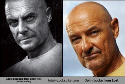 Adam Shepherd from Silent Hill: Homecoming Totally Looks Like Terry O'Quinn (John Locke from Lost)