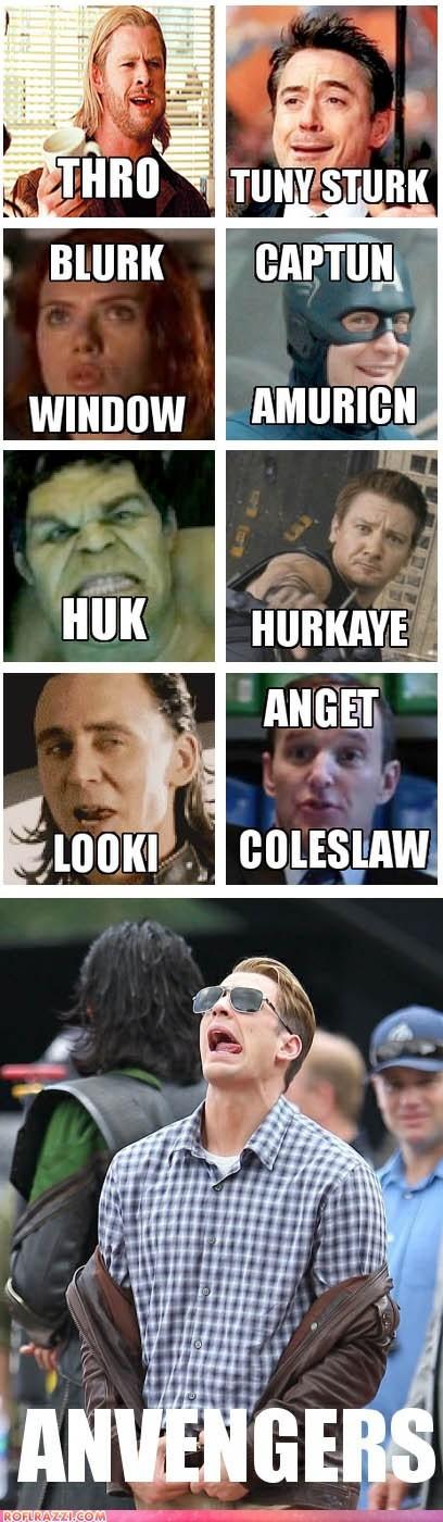 chris evans,chris hemsworth,derp,funny,Jeremy renner,mark ruffalo,Movie,robert downey jr,scarlett johansson,The Avengers,tom hiddleston