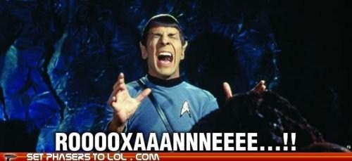 best of the week,Leonard Nimoy,roxanne,singing,Spock,Star Trek,sting