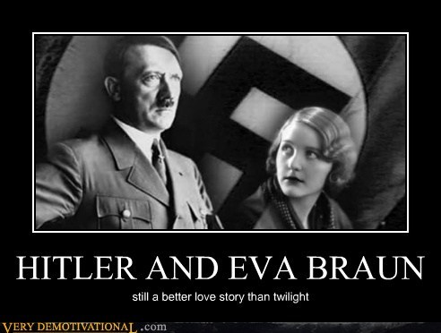 eva braun,hilarious,hitler,twilight
