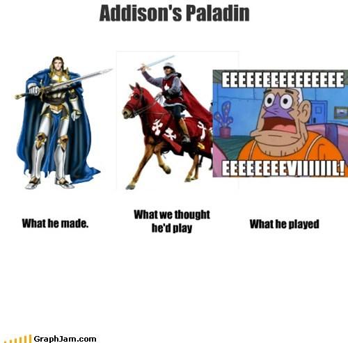 Addison's Paladin