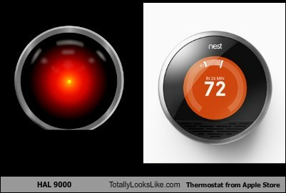 HAL 9000 Totally Looks Like Thermostat from Apple Store