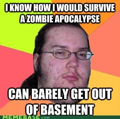 basement,butthurt dweller,Memes,zombie