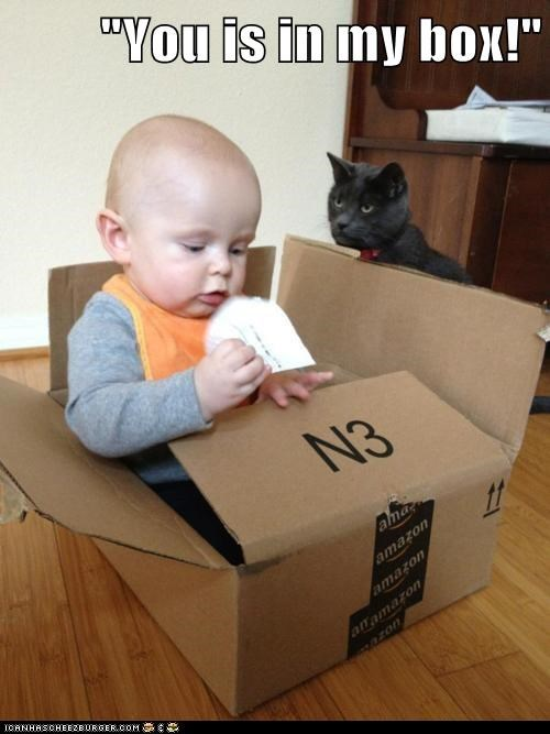 """""""You is in my box!"""""""