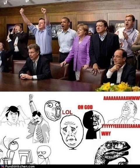 angela merkel,barack obama,david cameron,Hall of Fame,Memes,political pictures,rage faces