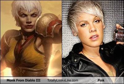 Monk From Diablo III Totally Looks Like Pink