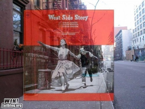 album,album art,Music,photography,west side story