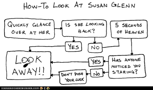Don't Look at Susan Glenn