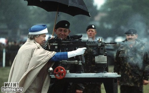 BAMF,england,gun,military,queen,UK