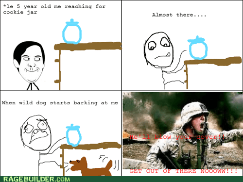 Rage Comics: Fall Back! Head for the Carrots!