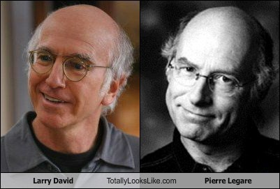 Larry David Totally Looks Like Pierre Legare