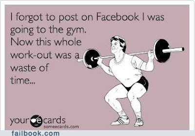 Failbook: If a Bro Works Out in a Gym and Nobody's Around to See It, Does He Even Exist?