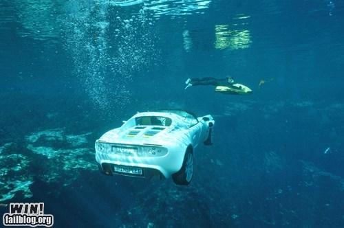 Submarine Car WIN