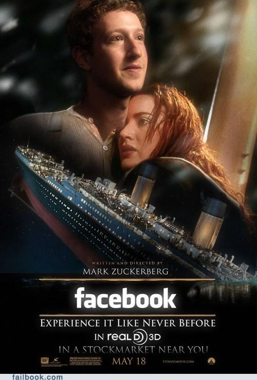 Mark Zuckerberg,Movie,parody,titanic