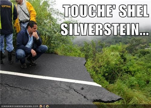 political pictures,shel silverstein,where the sidewalk ends