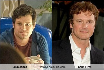 Luka Jones Totally Looks Like Colin Firth
