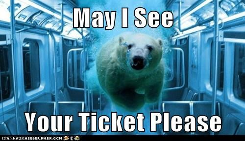 May I See  Your Ticket Please